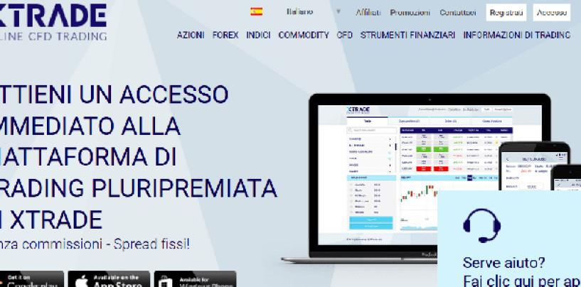 Xtrade : recensione e opinioni sul broker CFD