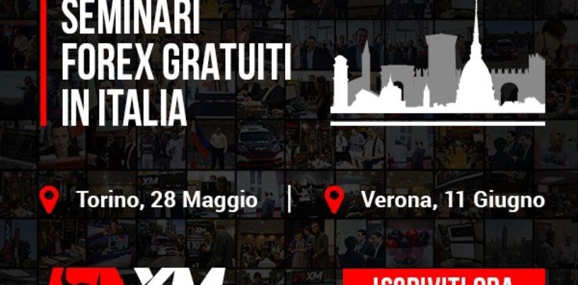 Corsi forex trading gratis: Torino e Verona