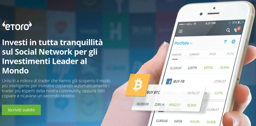 IQoption vs eToro: un confronto tra i due broker