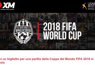 Biglietti Mondiali Russia + Galà a Roma con XM.com