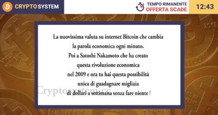Crypto System Truffa